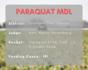 paraquat MDL